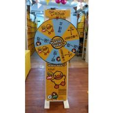 행사용 회전다트판(룰렛) 렌탈상품