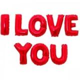 I LOVE YOU 레드