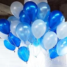 헬륨풍선-블루톤