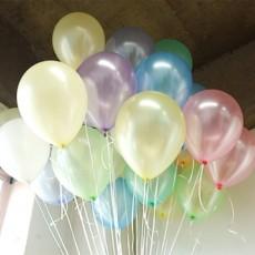 헬륨풍선-파스텔펄혼합