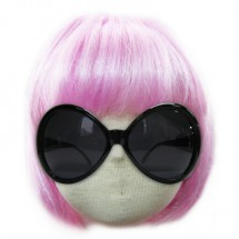 핑크단발머리 가발