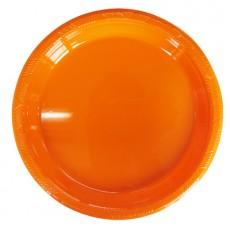 파티접시10개입(중)오렌지